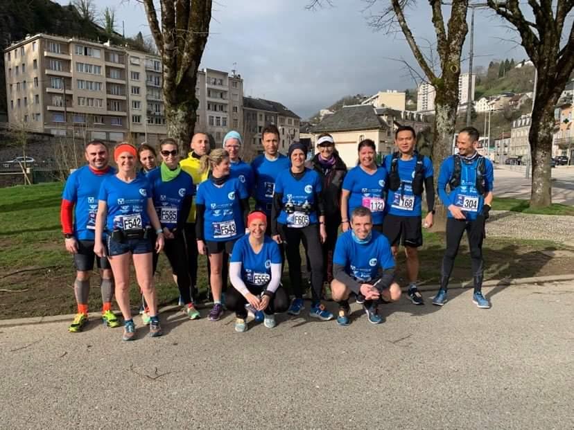 Participation massive du CRC au semi-marathon de Tulle – 08/03/2020